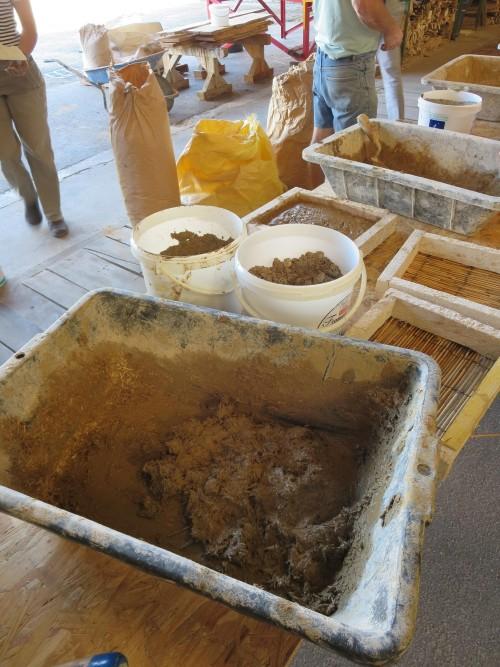 STAGE PRATIQUE : Enduits terre crue - ATTENTION CHANGEMENT DE LIEU