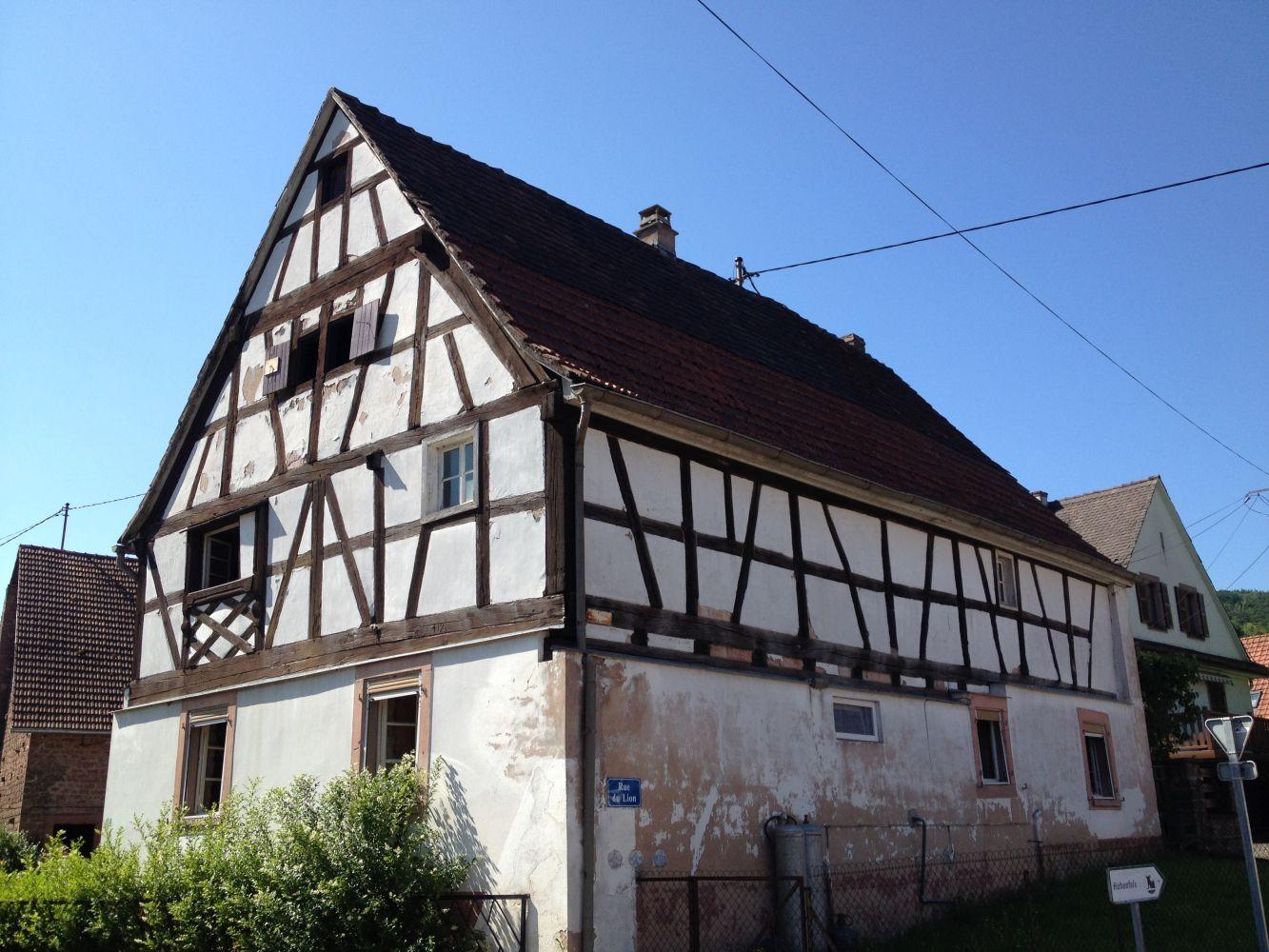 Rénovation d'une maison mixte
