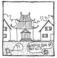 L'architecture locale boulversée
