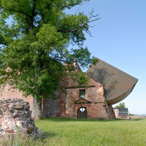 Chateau du Lichtenberg et extension contemporaine