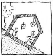 Un bâtiment penche...