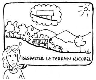 Penser la construction en préservant le terrain naturel