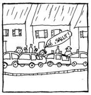Des embouteillages monstres sans vie sociale