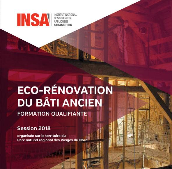 Eco-rénovation du bâti ancien module 1
