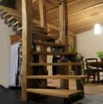 réalisation d'un escalier à quart tourant