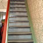 escalier et intérrieur avant travaux