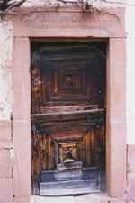 Porte d'entrée traditionnelle des Vosges du Nord