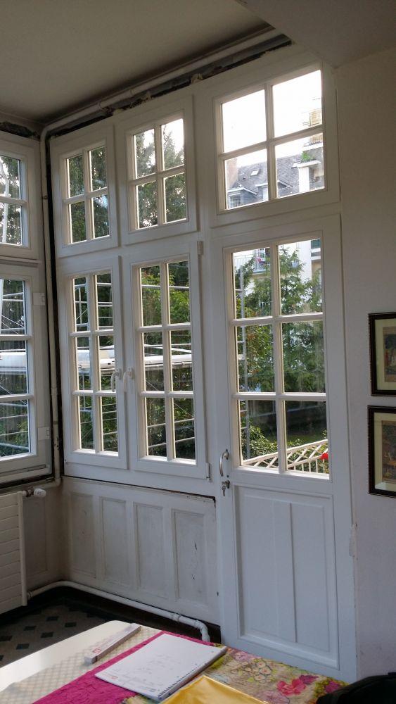 Rénovation Menuiseries extérieures Bois