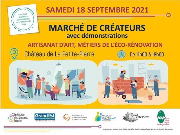 Marché de créateurs et éco-rénovateurs