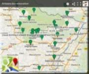 Carte de localisation des Pros du réseau éco-rénover