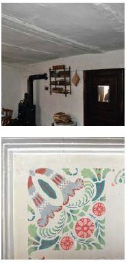 enduit intérieure à la chaux et décoration traditionnelle
