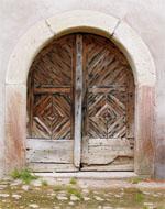 Porte de la cave